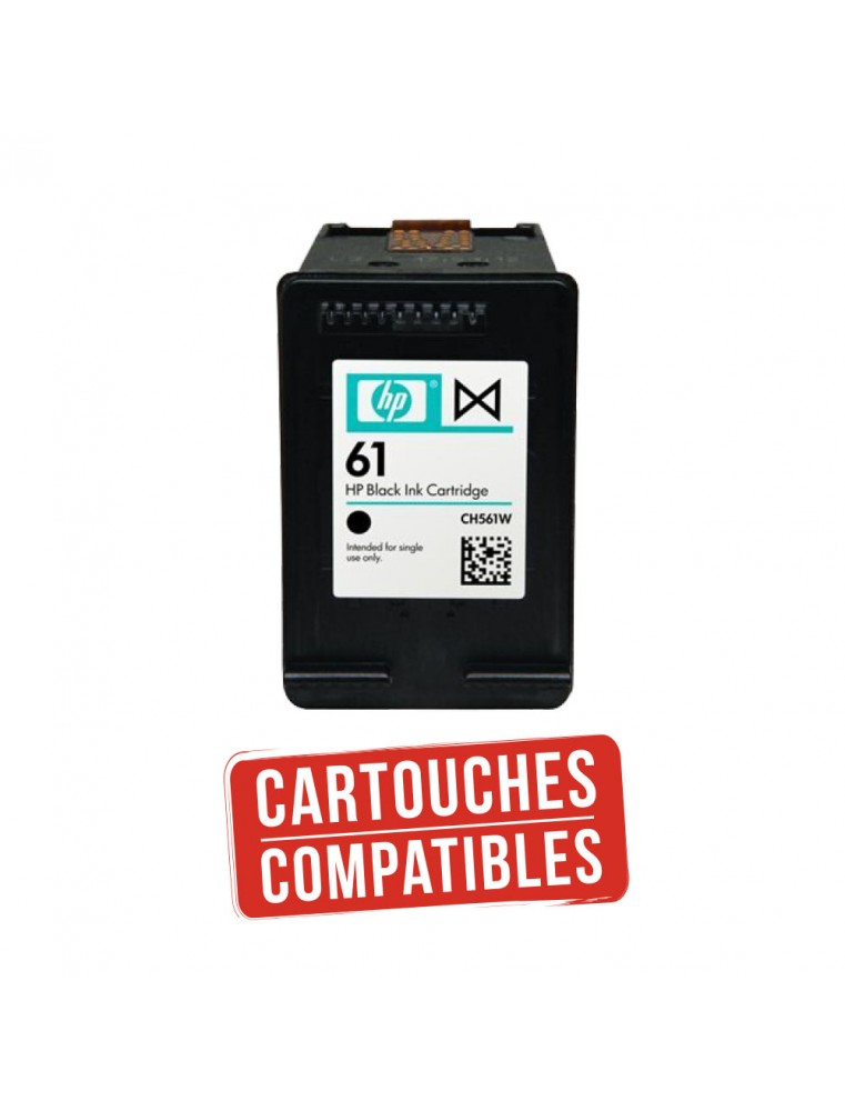 Cartouche Compatible HP 61 Noir