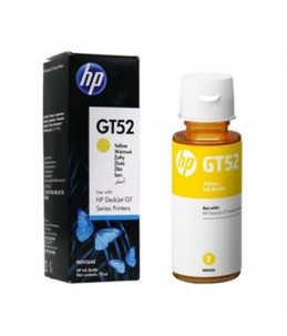 HP GT52 - Flacon encre HP GT52 JAUNE  70ML
