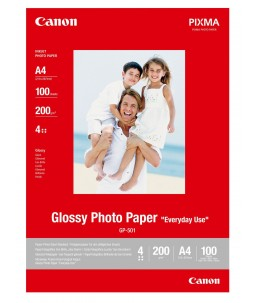 Canon GP-501 - 100 Feuilles papier photo - A4