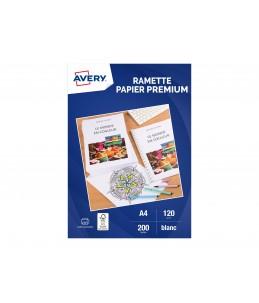 Avery - Ramette de 200 Feuilles de Papier Premium 120g/m²