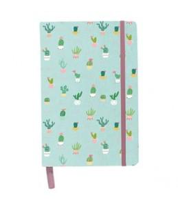 Notebook Cactus en cuir