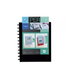 Viquel Geode - Porte vues personnalisable à pochettes repositionnables - 60 vues - A4 - blanc