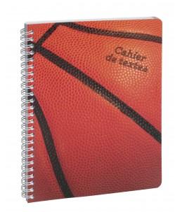 Cahier de textes spiralé Sports - 17 x 22 cm - 2 modèles disponibles - Exacompta