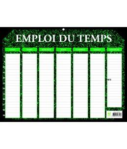 Emploi du temps Marbré 29,5 x 22 cm - Exacompta