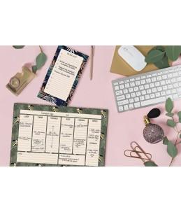 Hebdo Planner Color Design - 18 x 26,5 cm - différents modèles disponibles - Exacompta