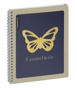 CAHIER DE TEXTES 17X22 CARAMEL&CIE