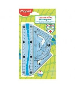 Maped   mini kit de traçage 4 pièces