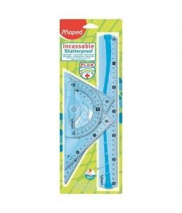 Maped Flex Kit de traçage 4 pièces