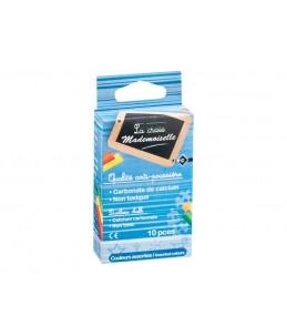Wonday - 10 Craies  couleurs assorties - anti poussière