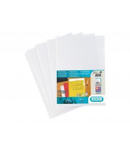 SHINE - 10 Pochettes coin - A4 - pour 25 feuilles - 12/100 - transparent