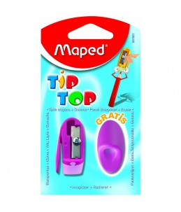 Taille-crayon + Gomme Tip-Top - MAPED