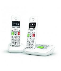 Gigaset E290A Duo - téléphone sans fil - système de répondeur avec ID d'appelant + combiné supplémentaire