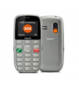 Gigaset GL390 - argent titane - 32 Mo - GSM - téléphone mobile