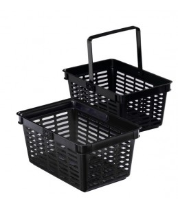 SHOPPING BASKET 19 NOIR PANIER MAGASIN