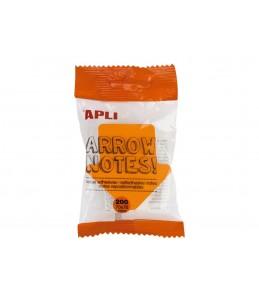 Apli - Notes adhésives flèches 70 x 70 mm - bloc de 200 feuilles couleurs vives