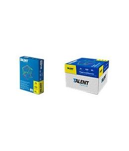 Talent Paper - Papier ordinaire blanc - A4 (210 x 297 mm) - 75 g/m² - 2500 feuilles (carton de 5 ramettes)