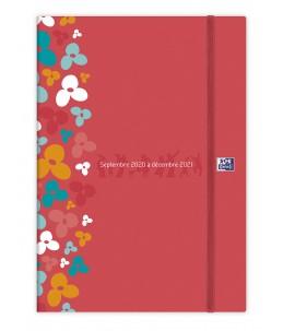 Agenda Oxford Family - 1 Semaine sur 2 pages - 18 x 25 cm - différents modèles disponibles - Hamelin