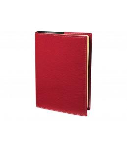 Soho President Prestige - Agenda 1 semaine sur 2 pages - 21 x 27 cm - rouge - Quo Vadis