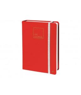 Quo Vadis Life Journal - Carnet de notes 15 x 21 cm - pointillés - corail