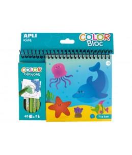 APLI kids COLOR Bloc The sea - crayon