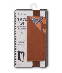 GLASSES CASE BROWN