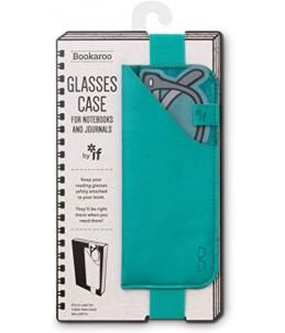 GLASSES CASE TURQUOISE
