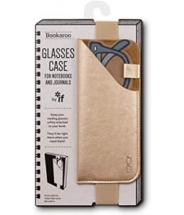 GLASSES CASE GOLD