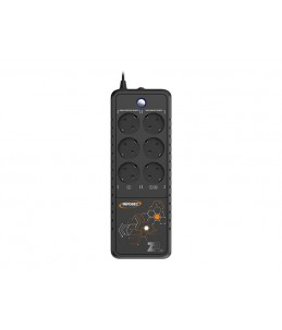INFOSEC Z2 EX 550 - onduleur 6 prises - 550 VA