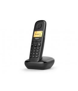 Gigaset A170 - téléphone sans fil - noir