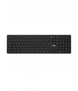 CLAVIER+SOURIS PORT DESIGN MEDIUM PACK SS USB NOIR