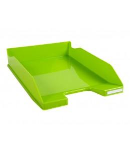 Exacompta COMBO Glossy - Corbeille à courrier vert anis