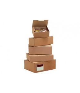 Carton Plus - Boîte postale d'expédition - 33 cm x 10 cm x 10 cm - kraft brun
