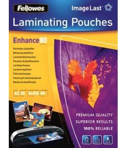 Fellowes - 25 pochettes de plastification A3 (303 x 426 mm) - 80 microns - brillantes