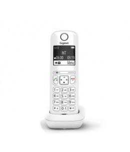 Gigaset AS690A Duo - téléphone sans fil + combiné supplémentaire - avec répondeur - blanc