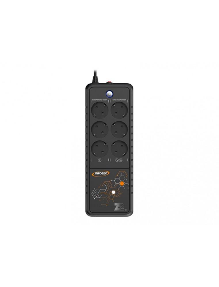 INFOSEC Z2 EX 1000 - onduleur 6 prises - 1000 VA