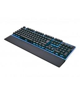 Cougar Core - clavier filaire Azerty - 8 led et repose poignet déclipsable - noir