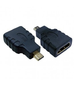 MCL Samar - adaptateur HDMI type A (F) vers micro HDMI type D (M)