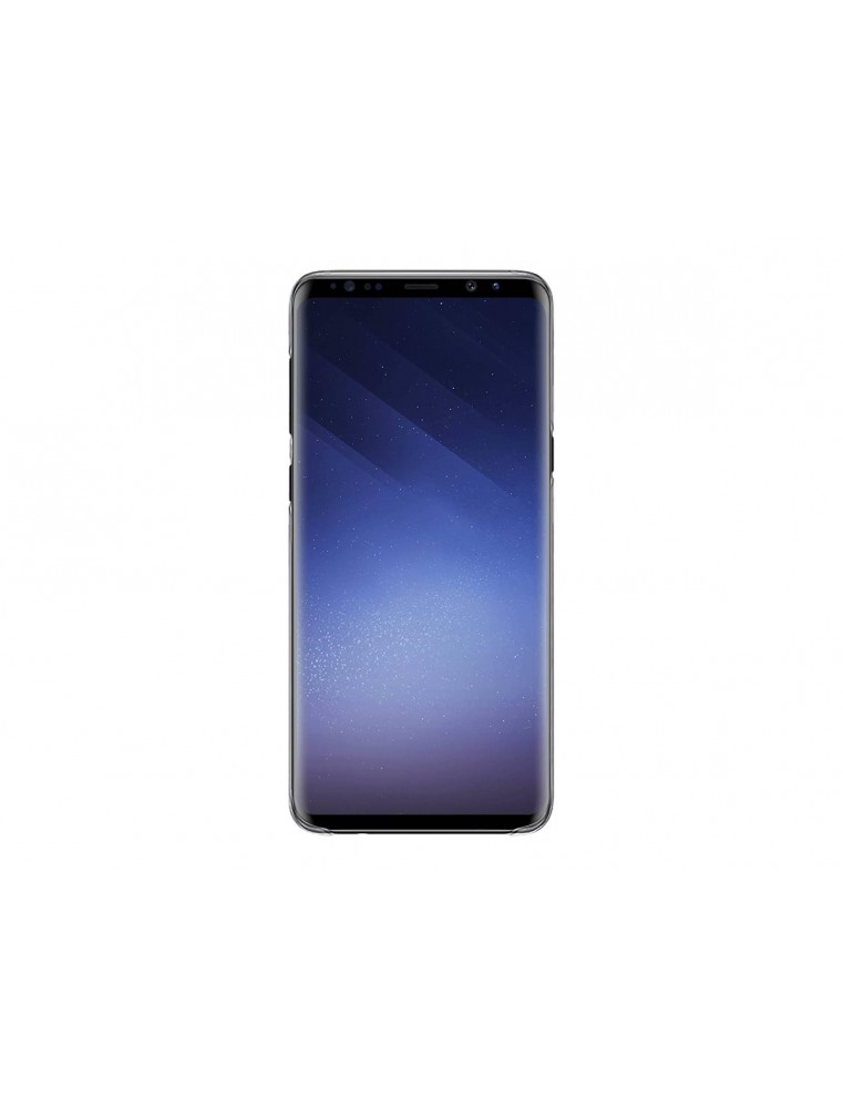 BigBen Connected - Achterzijde behuizing voor mobiele telefoon - silicone - transparant - voor Samsung Galaxy S9