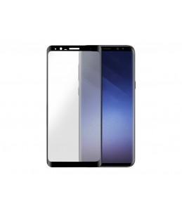 BigBen Interactive - Schermbeschermer - zwart, transparant - voor Samsung Galaxy S9+