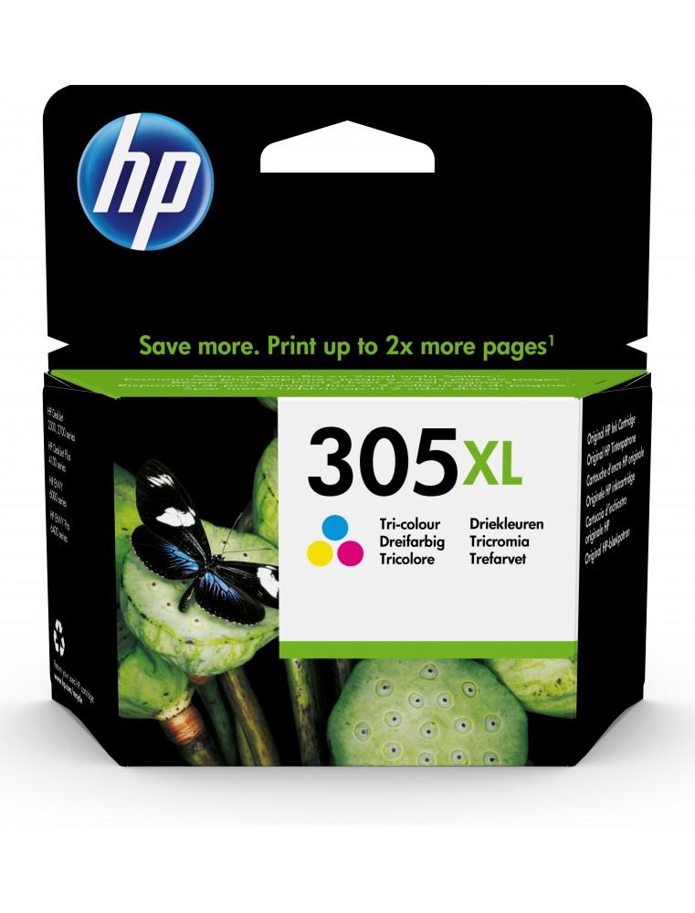 HP 305XL - cyan, magenta, jaune - cartouche d'encre originale