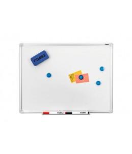 DAHLE - Tableau blanc - montable au mur - 450 x 600 mm - laqué - magnétique