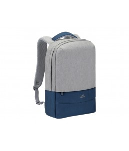 """Riva Case 75 - Sac à dos pour ordinateur portable 15,6"""" - gris/bleu nuit"""