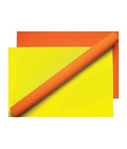 Apli Agipa - Papier rouleau fluo - 70 cm x 10 m - jaune fluo