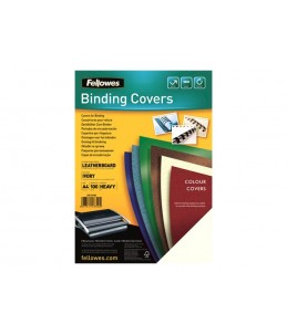 Fellowes FSC Certified - 100 unités - 250 g/m² - couverture à reliure