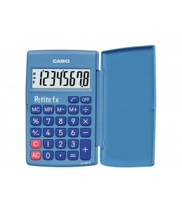 Casio Petit-FX LC-401LV - Calculatrice de poche - 8 chiffres - bleu