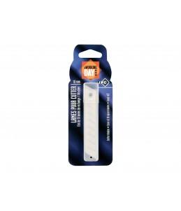 JPC - 10 Lame de cutter - pour cutter 18 mm