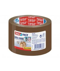 Tesapack Extra Strong - Rouleau adhésif d'emballage - 50 mm x 66 m - marron