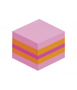 Mini-cube Post-it Plaisir - 51 x 51 mm