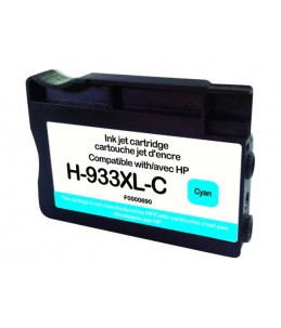 HP 933XL - remanufacturé UPrint H.933XLC - cyan - cartouche d'encre