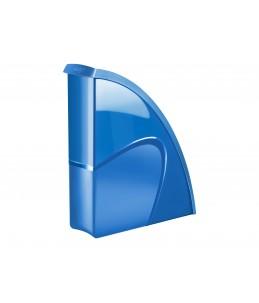Ceppro Gloss 674+ G - porte-revues - 24 x 32 cm - Bleu ocean